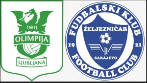 NK Olimpija Ljubljana – FK Željezničar (UŽIVO)