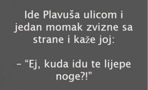 VIC: LIJEPE NOGE