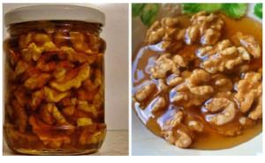 Kako se med i orasi koriste kao lijek?